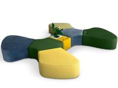 Panca modulare in tessutoSIR-PENT | Panca modulare - ADRENALINA