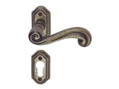 Maniglia in ottone su rosetta con bocchetta SIRIO CLASSIQUE | Maniglia con bocchetta - Sirio