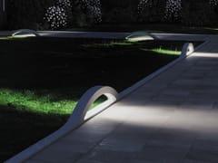 Lampada da terra per esterno a LED in cementoSIRIO - FAVARO1