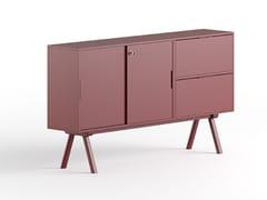 Mobile ufficio basso in legno con cassettiSISTEMA 2027 | Mobile ufficio con cassetti - GABER