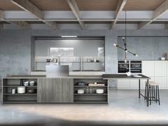 Cucina laccata con isolaSISTEMA 22.2 - AMBIENTE 03 - ALTA