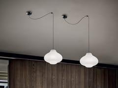 Lampada a sospensione a LED in polietileneSISTERS_1 - LINEA LIGHT GROUP