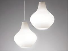 Lampada a sospensione a LED in vetro opaleSIXTIES - AILATI LIGHTS BY ZAFFERANO