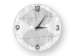Orologio da parete in legno intarsiato o stuccato SKELETON COLD | Orologio - DOLCEVITA NATURE
