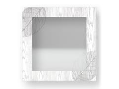 Specchio quadrato da parete con cornice SKELETON COLD | Specchio - DOLCEVITA NATURE