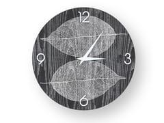 Orologio da parete in legno intarsiato o stuccato SKELETON COLORS | Orologio - DOLCEVITA NATURE
