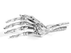 Soprammobile in alluminioSKELETON HAND - SELETTI