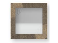 Specchio quadrato da parete con cornice SKELETON WARM | Specchio - DOLCEVITA NATURE