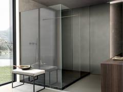 Box doccia angolare rettangolare con piattoSKILL | Box doccia - MODULNOVA