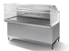 Vetrina refrigerata in acciaio inox da banconeSNK80-B - ABACO BY ISA