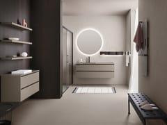 Mobile lavabo singolo con lavabo integratoSKY 03 - ARBI ARREDOBAGNO