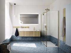 Mobile lavabo sospeso con cassettiSKY 05 - ARBI ARREDOBAGNO