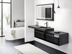 Mobile lavabo singolo con lavabo integratoSKY 10 - ARBI ARREDOBAGNO