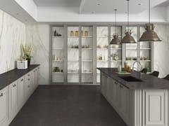 APAVISA, SLABS - BORGHINI Pavimento/rivestimento in gres porcellanato effetto marmo