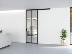 Portapivot, SLIDEWAYS 5730 - SINGLE DOOR Porta scorrevole in alluminio e vetro