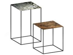 Tavolino alto quadratoSLIM IRONY ART | Tavolino - ZEUS