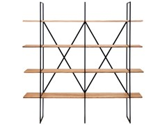Libreria in legno masselloSLIM IRONY | Libreria in legno - ZEUS