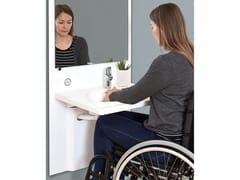 Lavabo per disabili ad altezza regolabileSLIM - ROPOX