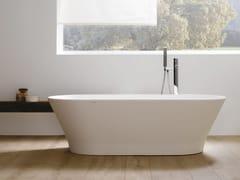 Vasca da bagno centro stanza ovale in Krion®SLIM - PORCELANOSA GRUPO