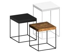 Tavolino quadrato in metallo verniciatoSLIM UP | Tavolino - ZEUS