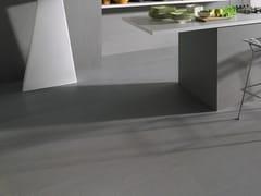 Pavimento/rivestimento in gres laminato BASALTINA STONE PROJECT SABBIATA - Slimtech Basaltina Stone Project
