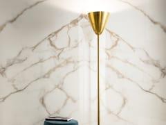 LEA CERAMICHE, SLIMTECH DELIGHT CALACATTA ORO Pavimento/rivestimento in gres laminato effetto marmo