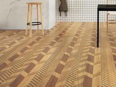 LEA CERAMICHE, SLIMTECH TYPE 32 HONEY Pavimento/rivestimento in gres laminato effetto legno