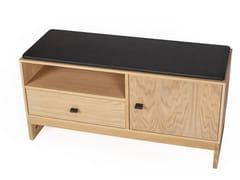 Panca / mobile da ingresso in legno masselloSLUSSEN | Mobile da ingresso - WOODMAN