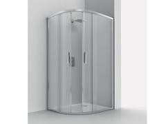 Box doccia semicircolare con piattoSMART RA-S - RELAX