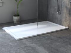 Piatto doccia rettangolare ultrapiatto in Corian®SMART - RILUXA