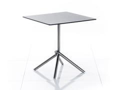 Tavolo da giardino pieghevole quadrato in HPL SMART SERIES | Tavolo quadrato - Smart Series