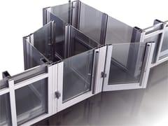 Alumil, SMARTIA M15000 BS Vetrata tagliafioco antintrusione