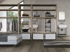 Mobile lavanderia componibile in nobilitatoSMARTOP - COMPOSIZIONE 8 - COLAVENE