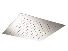 Soffione doccia a pioggia da incasso in acciaio inox SO627 | Soffione doccia - Soffioni doccia