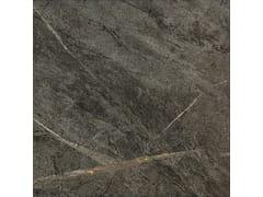 Pavimento in gres porcellanato effetto pietraSOAP STONE BLACK - CERAMICHE COEM