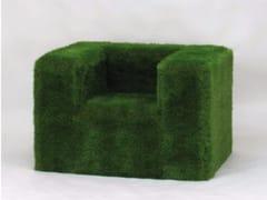 Seduta da esterni in EPS rivestita con erba sinteticaSOFÀ - CABOX