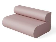 Divano componibile modulare in poliuretano a 2 postiB-SIDE | Divano - FIRPLAST