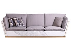 Divano in alluminio a 3 postiMATISSE   Divano - HOME DESIGN BY FRANCHI UMBERTO MARMI