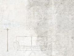 Carta da parati effetto muro impermeabile in fibra di vetroSOFA - TECNOGRAFICA