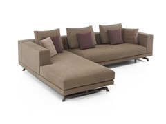 Divano angolare componibile in tessutoSANMARINO | Divano con chaise longue - ESTEL GROUP