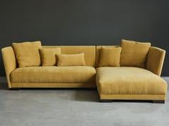 Divano in tessuto a 3 posti con chaise longueHALLE | Divano con chaise longue - GRADO DESIGN FURNITURES