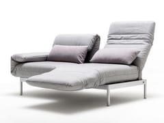 Divano in tessuto con chaise longue PLURA | Divano con chaise longue - Plura