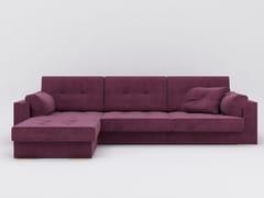 Divano in tessuto con chaise longueZULU | Divano - ZALABA DESIGN