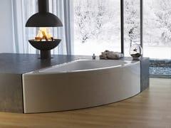 Relax Design, SOFIA Vasca da bagno asimmetrica idromassaggio in acrilico