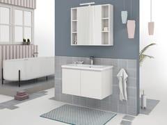 Mobile lavabo sospeso con ante SOFT 02 - Express