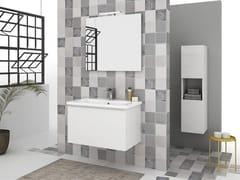 Mobile lavabo sospeso con cassetti SOFT 03 - Express