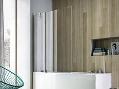 Parete per vasca in vetro SOHO MV - Showering