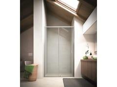 Box doccia a nicchia con porta scorrevole SOHO MO - Showering