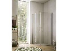 Box doccia angolare in cristallo SOHO MQ - Showering
