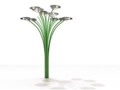 Artemide, SOLAR TREE LED 2nd GENERATION Lampione stradale ad energia solare